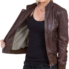 Smart Leather Jacket for Women