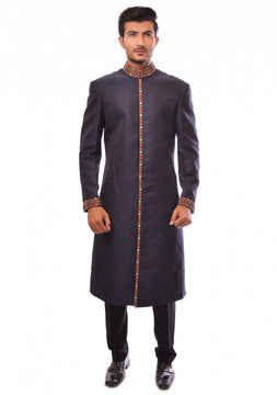 Smart Pakistani Sherwani For Men