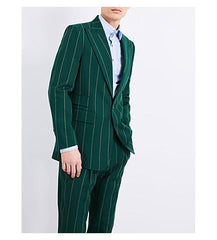 Smart pinstripe suit for men
