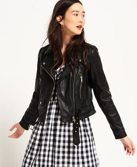 Stunning Leather Jacket for women