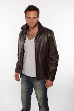 Stunning Men Leather Jacket