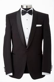 Stunning black suit for men