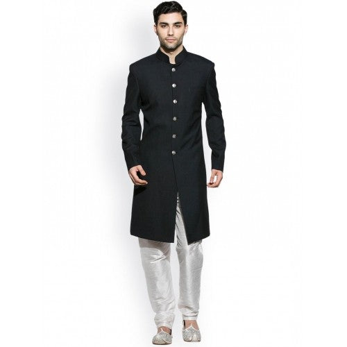 Stylish Black Sherwani