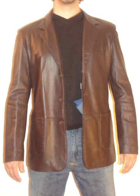 Stylish Italian Leather Jacket