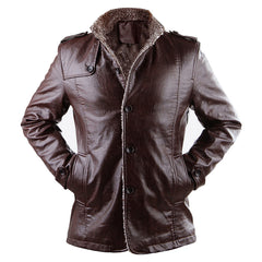 Stylish Winter Leather Jacket for men
