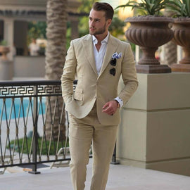 Stylish summer suit for men