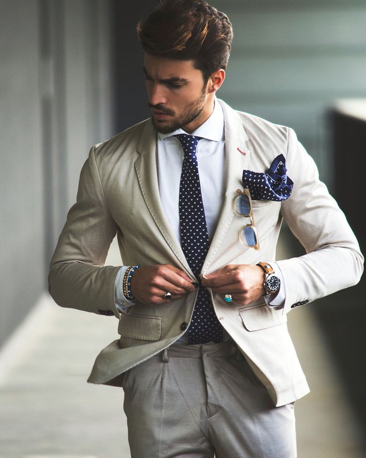 Summer suit • men's fashion