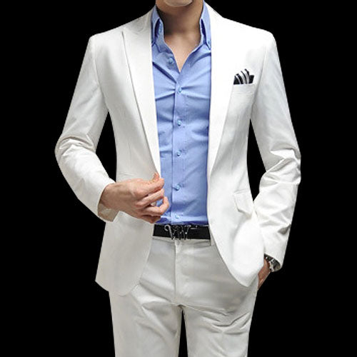 Trending  white suit for men