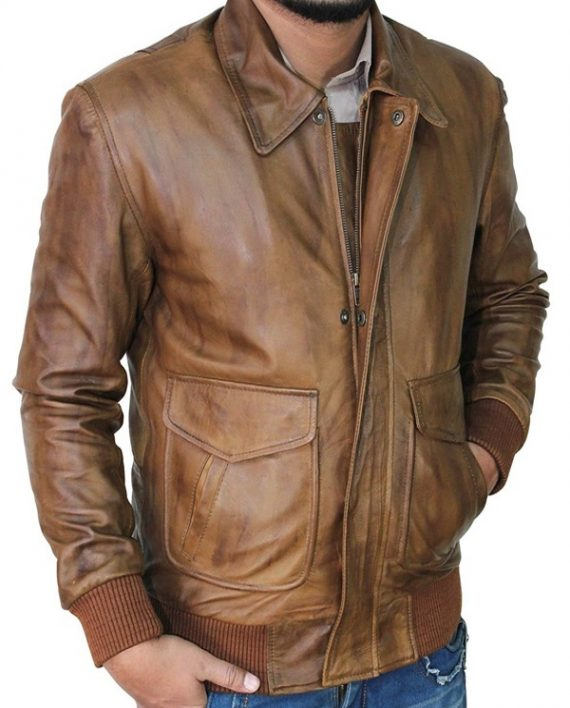 Trendy Film Leather Jacket