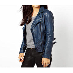 Unusual Leather Jacket for women