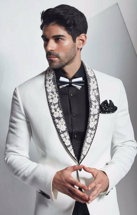 Unusual Men Wedding Suit