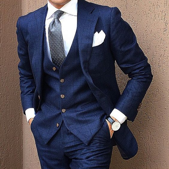 Unusual suit for men