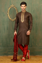 Wedding Brown Sherwani