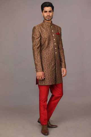 Variety designs of wedding sherwani for men