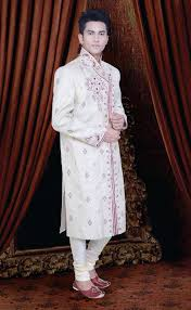 White Indian Sherwani