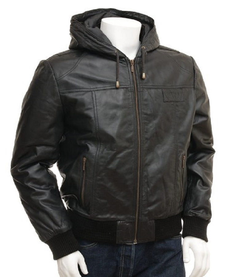 Winter Leather Jacket for men