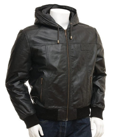 Cute Winter Leather Jacket for men