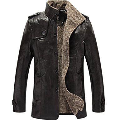 Winter cool Leather Jacket