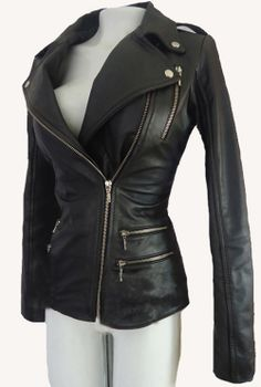 Fantastic Women Biker Motorcycle Leather Designer
