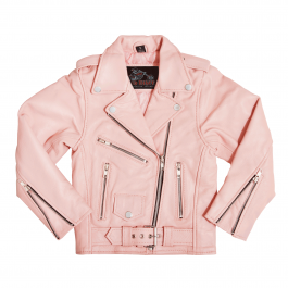 Unusual Pink Jacket For Kids