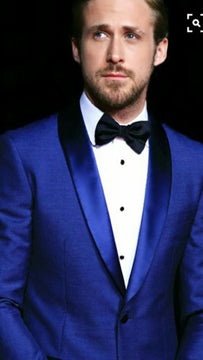 Wonderful blue suit for men