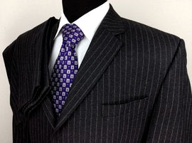 Wonderful pinstripe suit for men