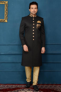 Exciting Black Sherwani