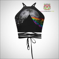Pink Floyd Inspired Crop Top - Your Expression Zone