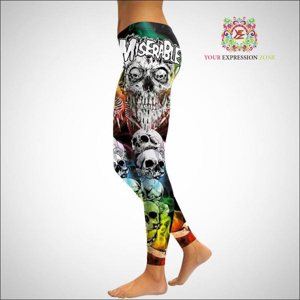 Colored Smoke Alternative Leggings - Your Expression Zone