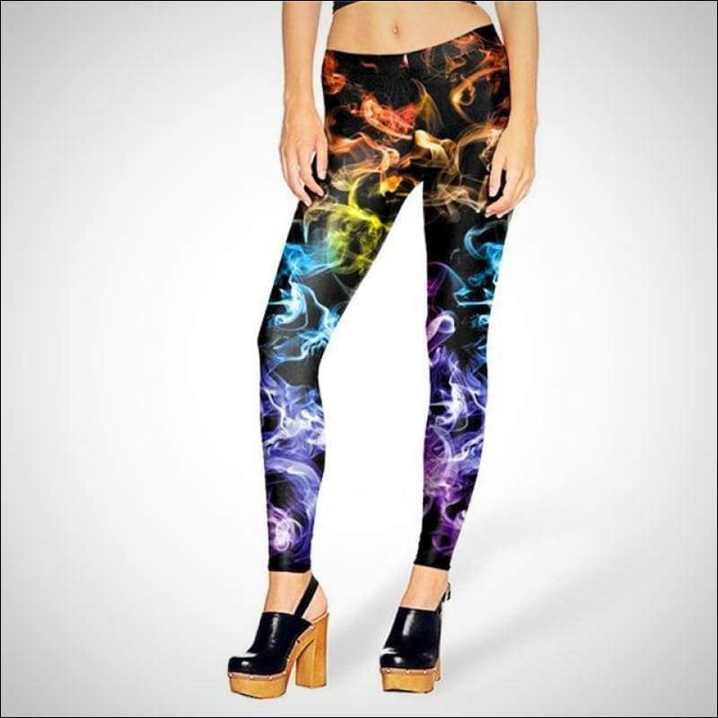 Colored Smoking Hot Leggings - Your Expression Zone