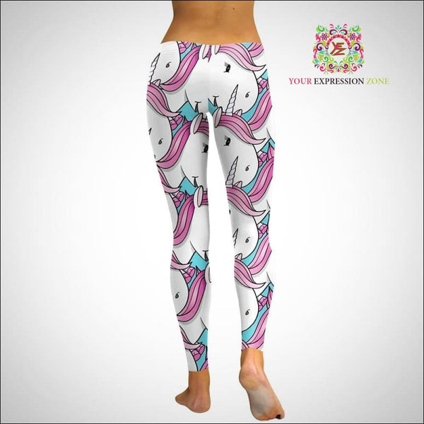 Cute Unicorn Leggings - Your Expression Zone
