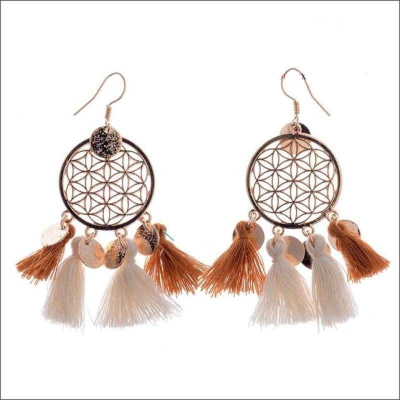 Dreams Are Connected Earrings - Your Expression Zone