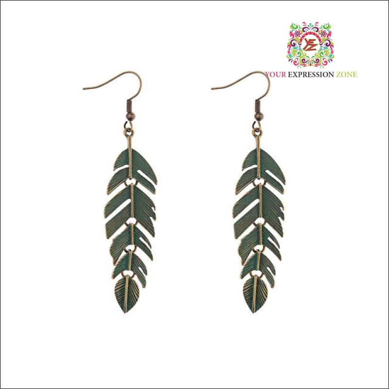 F.L.Y Feather Earrings - Your Expression Zone