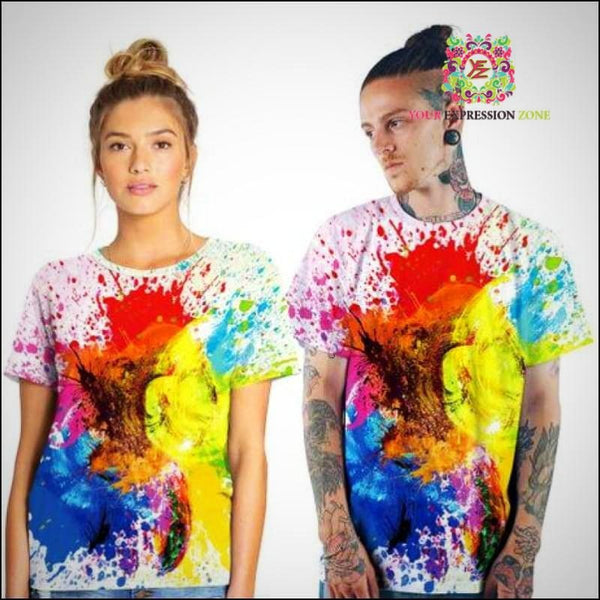 Abstract Art Tee - Your Expression Zone