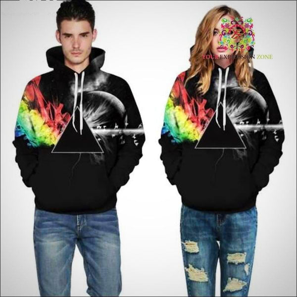 Pink Floyd Inspired Hoody - Your Expression Zone