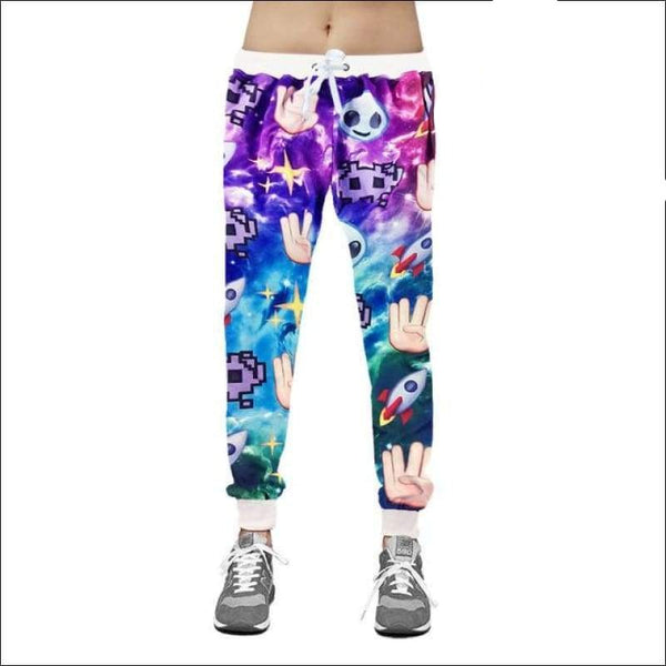 Emoji Galaxy Joggers - Your Expression Zone