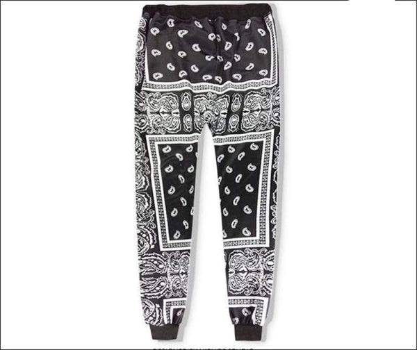 Paisley Joggers - Your Expression Zone