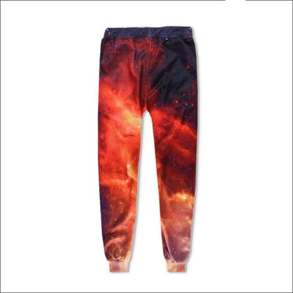 Red Galaxy Joggers - Your Expression Zone
