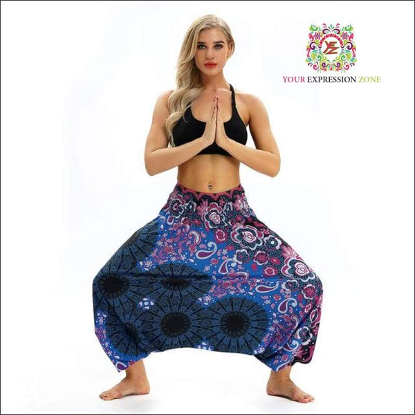 Flower Hippy Pants (7 Colours) - Your Expression Zone