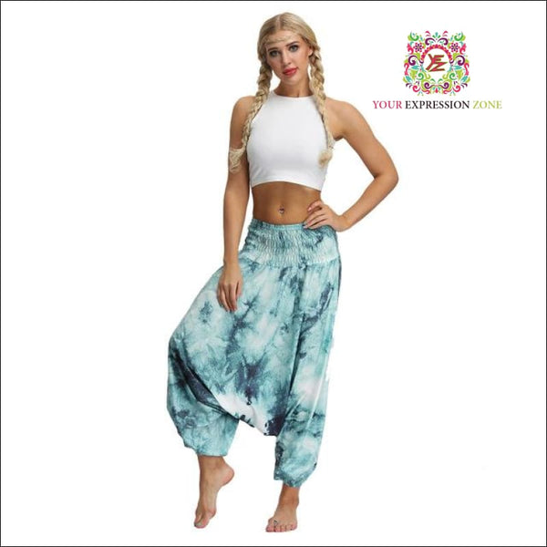 Tye-Dye Harem Pants (6 Choices) - Your Expression Zone