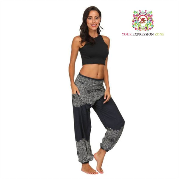 Boho Mandala Hippy Pants - Your Expression Zone