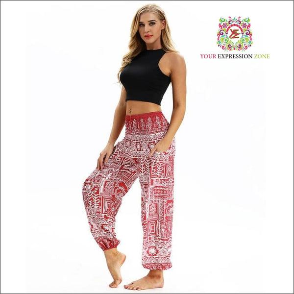 Tribal Boho Hippie Pants - Your Expression Zone