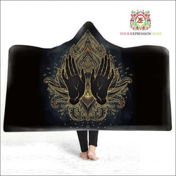Magic Hooded Cape Blanket March 14 - Your Expression Zone