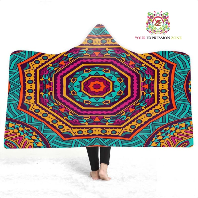 Magic Hooded Cape Blanket March 23 - Your Expression Zone