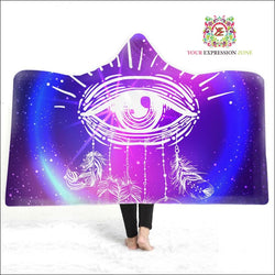 Eye-Catching Dreams Hooded Blanket - Your Expression Zone