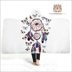 Delicate Beauty Hooded Blanket - Your Expression Zone
