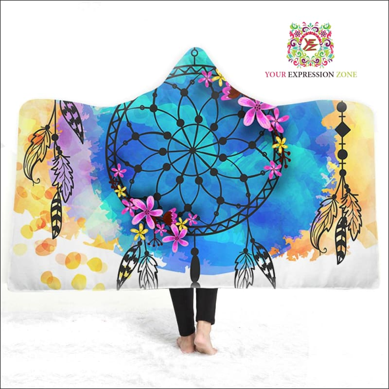 Flamboyant Dreams Hooded Blanket - Your Expression Zone