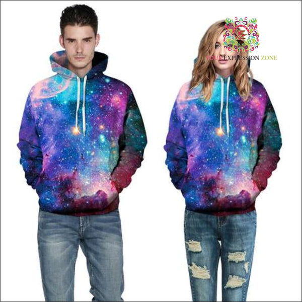 Mesmerizing Galaxy Hoody - Your Expression Zone