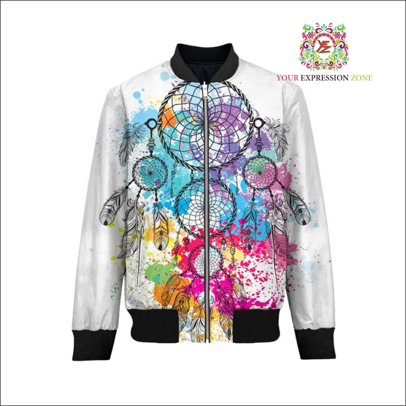Abstract Dream Catcher Jacket - Your Expression Zone