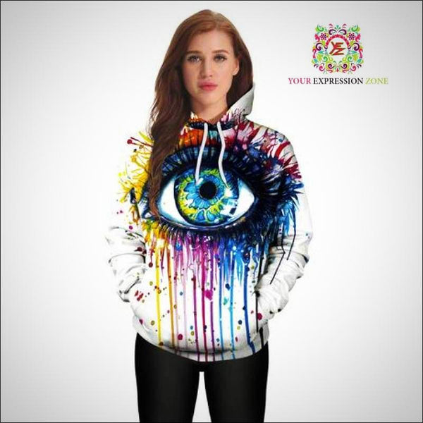 All-Seeing-Eye Hoody - Your Expression Zone